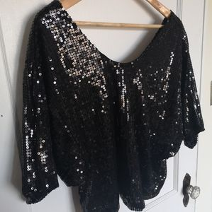 🎉 4 for 25 🎉 Sparkly crop top Vero Moda